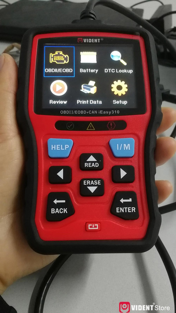 Scan Toyota Camry Using Vident Ieasy310 05