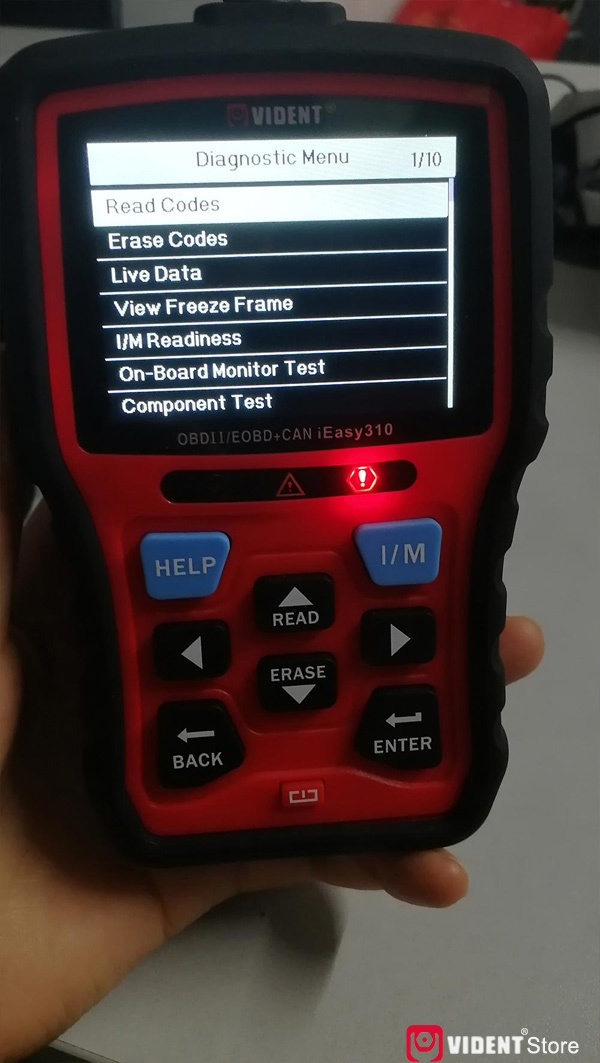 Scan Toyota Camry Using Vident Ieasy310 06