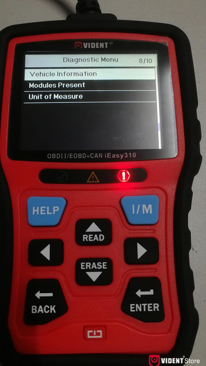 Scan Toyota Camry Using Vident Ieasy310 07