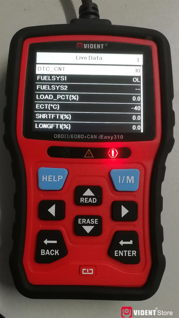 Scan Toyota Camry Using Vident Ieasy310 16