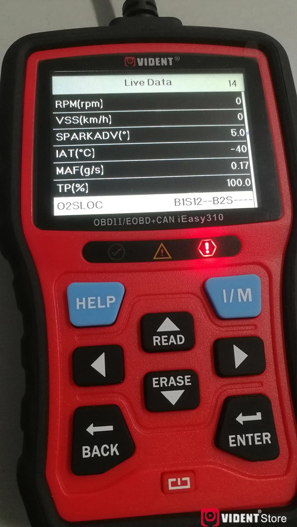 Scan Toyota Camry Using Vident Ieasy310 18
