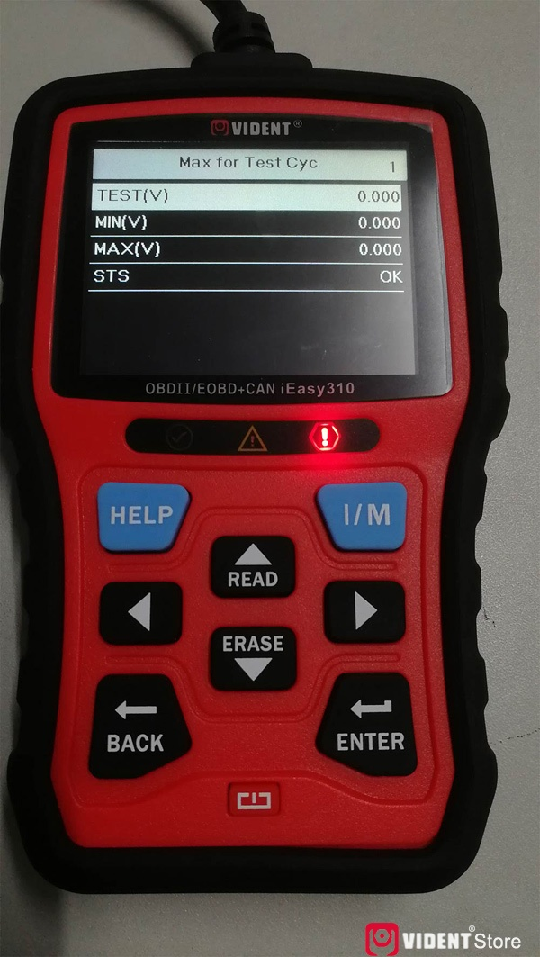 Scan Toyota Camry Using Vident Ieasy310 31