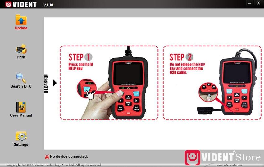 Vident Ieasy310 Update Language 02