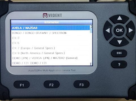 Iauto702 Pro Mazda Dpf 1