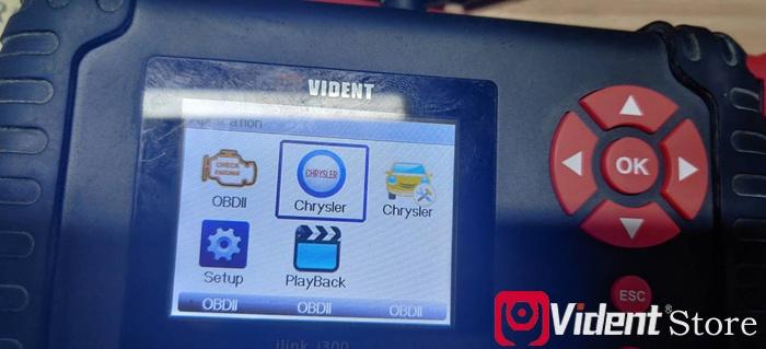 Vident Ilink400 Chrysler Scanner 00
