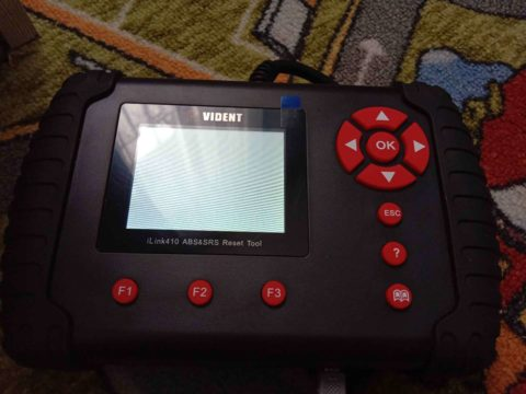 Vident Ilink410 White Screen