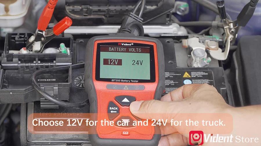 Use Vident Ibt200 9v 36v Battery Tester 05