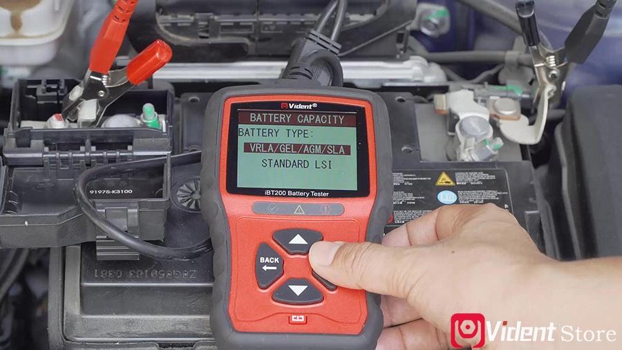 Use Vident Ibt200 9v 36v Battery Tester 07