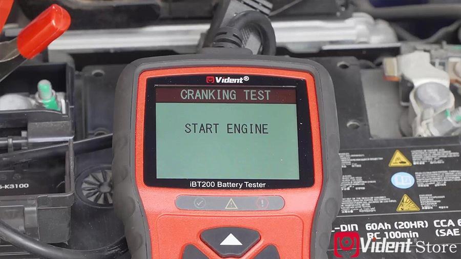Use Vident Ibt200 9v 36v Battery Tester 12