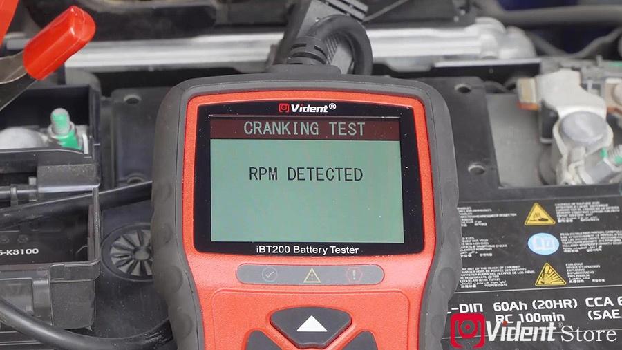 Use Vident Ibt200 9v 36v Battery Tester 13