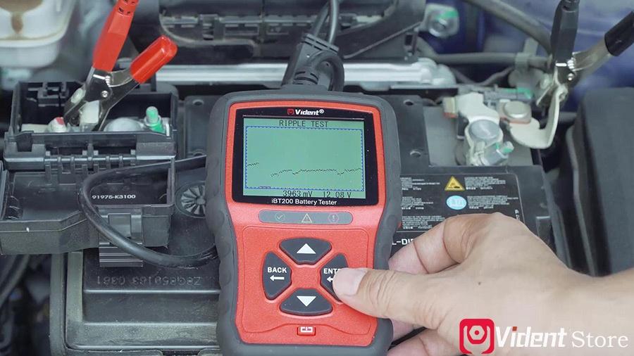 Use Vident Ibt200 9v 36v Battery Tester 19