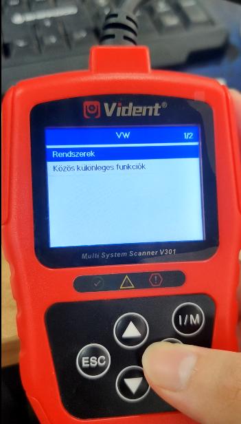 Change Vident V301 Language 5